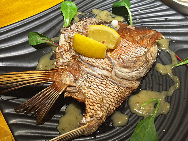 Cooked Fish Head