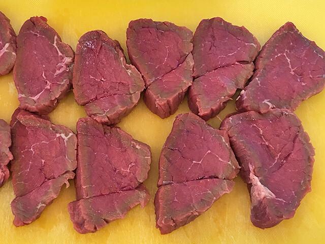Sliced Beef Block Meat