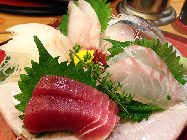 5 Assorted Sashimi