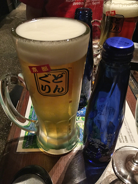 Beer and Sparkling Sake