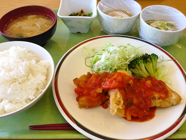 Healthy Set Meal with Soft-Boiled Eggs