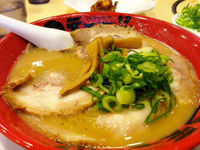 Tenkaippin Ramen Noodles with Roast Pork