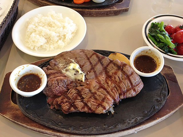 300 g of Beef Steak