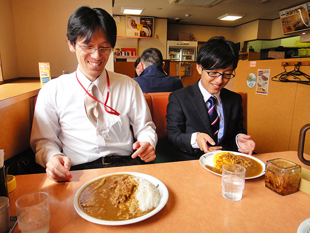 Dr. Taki and Mr. Iyoshi
