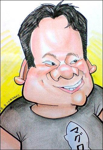 Caricature by Shiori