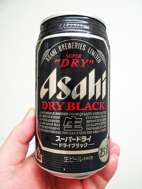 ASAHI DRY BLACK