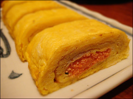 Mentaiko Rolled Egg