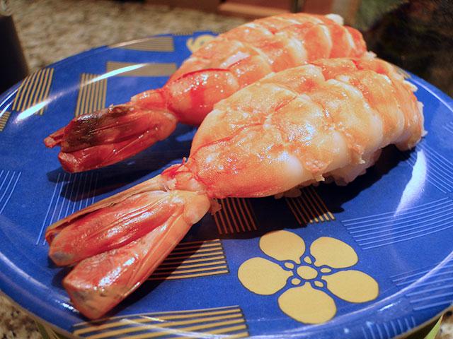 Boiled Prawn Nigiri Sushi