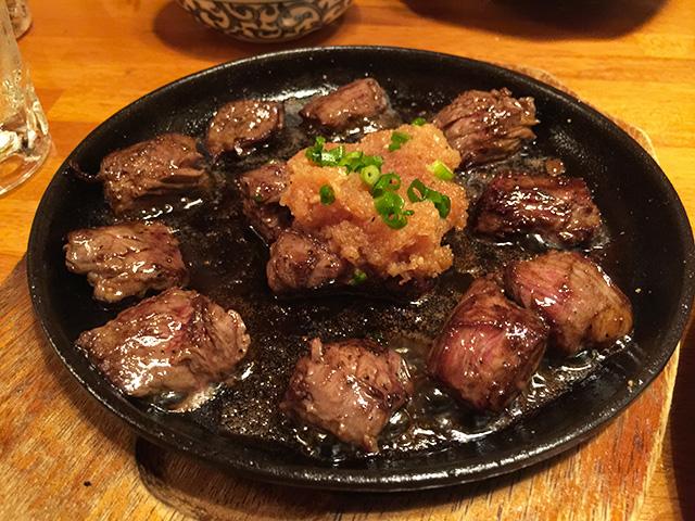Bite-Size Steak