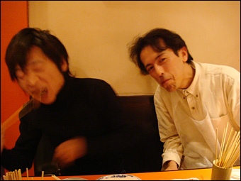 Kazu and Hama-chan