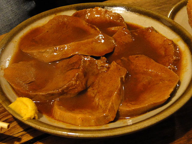 Stewed Thick-Sliced Beef Tongue