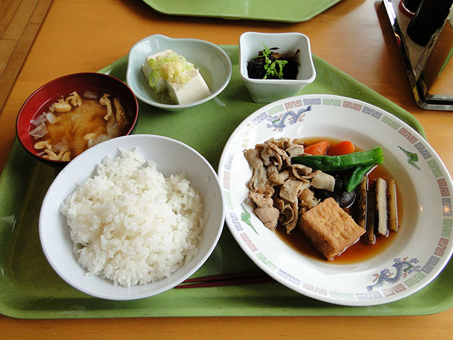 Set Meal A with Cold Tofu