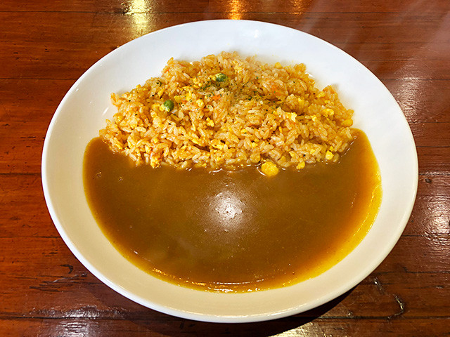 Curry and Dried Curry Rice