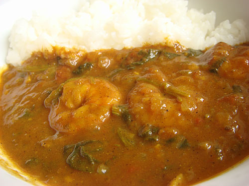 Spicy Stewed Prawn Curry
