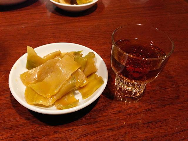 Taiwanese Rice Wine with Zha Cai