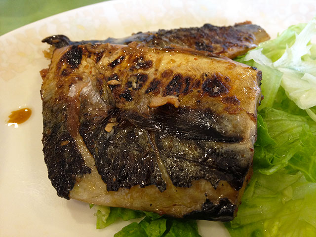 Seven-Spice Chili Mix Flavored Grilled Mackerel