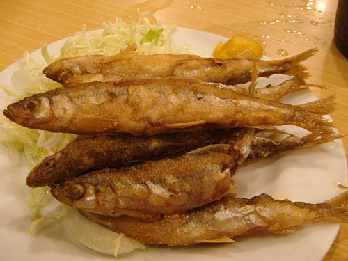 Fried Pond Smelt