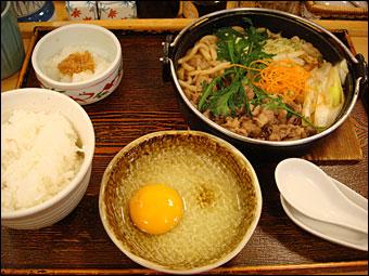 Sukiyaki Meal