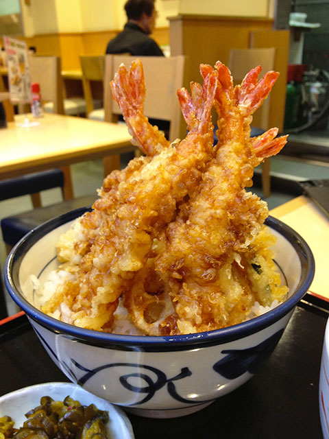 Prawn Tree Tempura Bowl