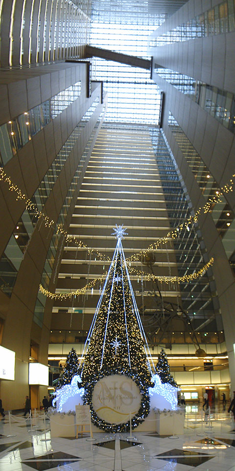 Christmas Tree in SHINJUKU NS Building