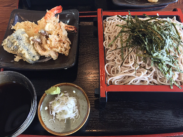 Soba Noodles with Assorted Tempura