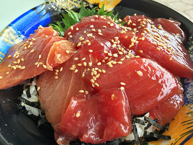 Seasoned Tuna Rice Bowl