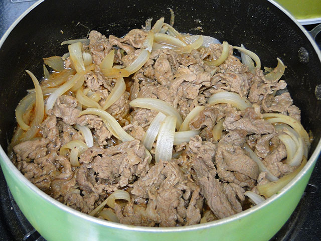 Stewed Beef with Onion