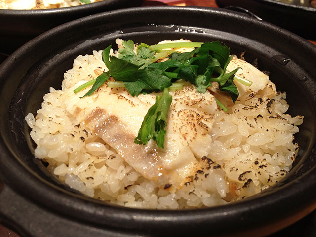 Rice Cooked with Shredded Sea Bream