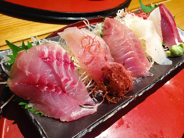 5 Assorted Sashimi