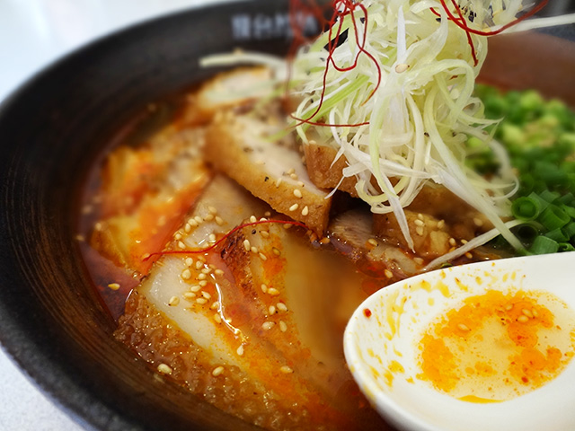 Spicy Red Ramen Noodles