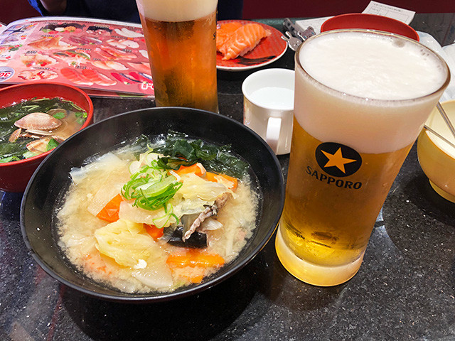 Fish Bone Soup and Beer