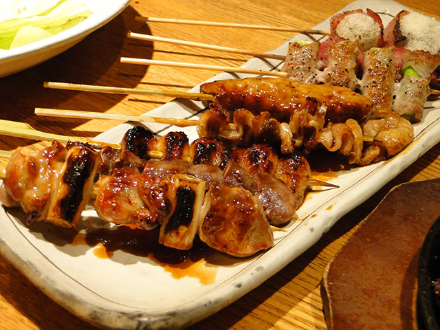 Assorted Kushiyaki