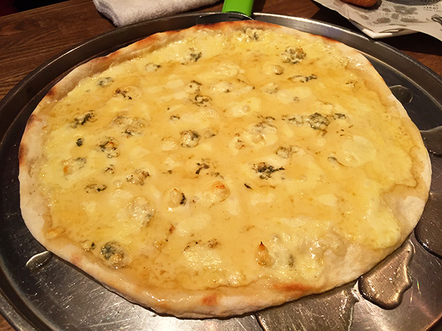 Honey Gorgonzola Pizza