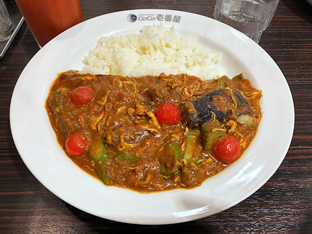 2nd Chicken and Summer Vegetables Curry