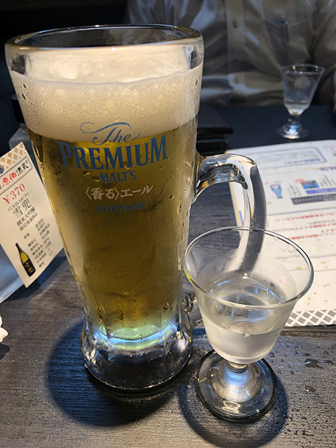 Draft Beer and Sake