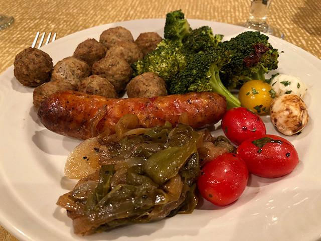 Dinner Day 1