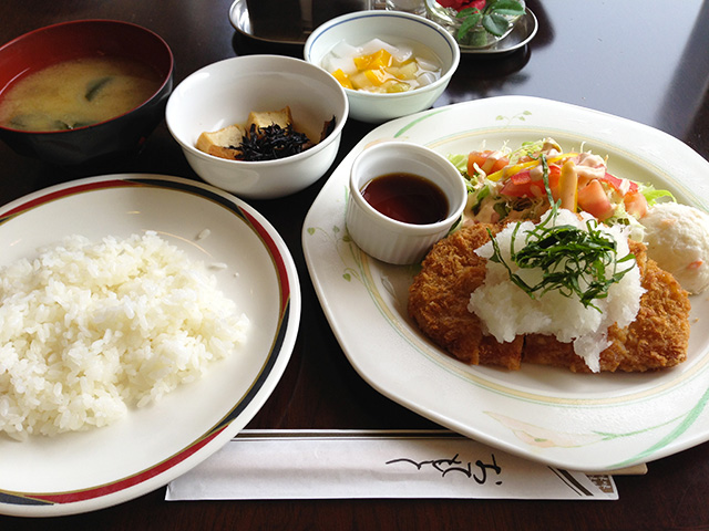 Pork Cutlet Set Meal