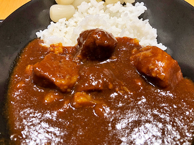 JAL Lounge Curry