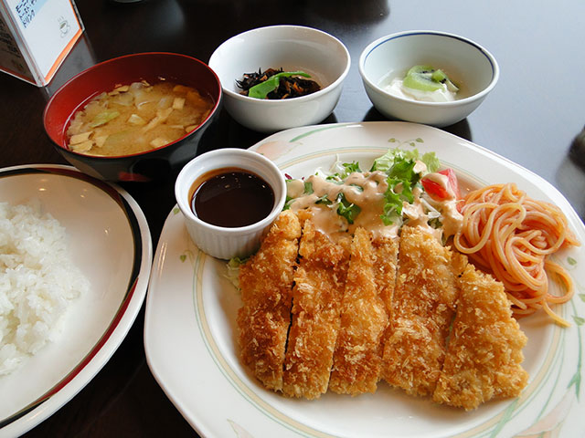 Fried Pork Cutlet Set Meal