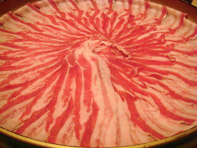Black Pork Shabu Shabu