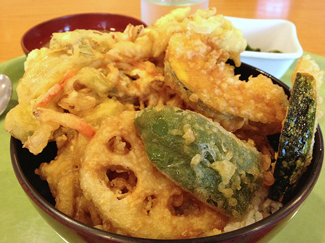 Vegetable Tempura Bowl