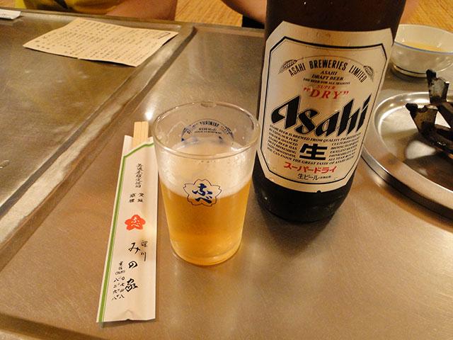 Beer at Minoya
