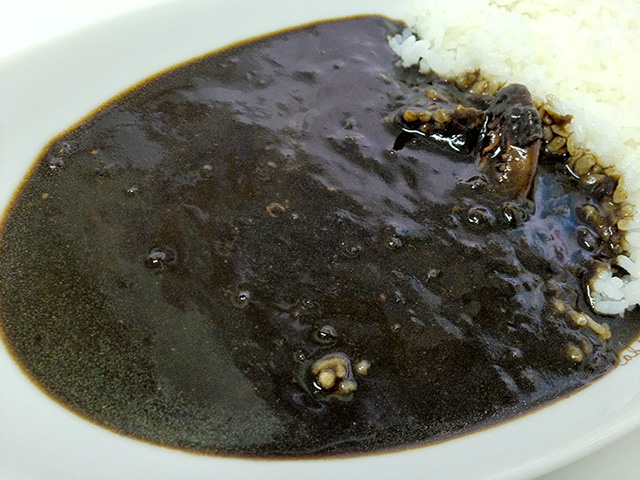 Squid Ink Black Curry and Rice