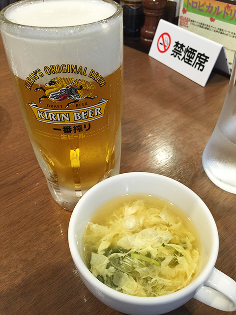 Beer and Soup