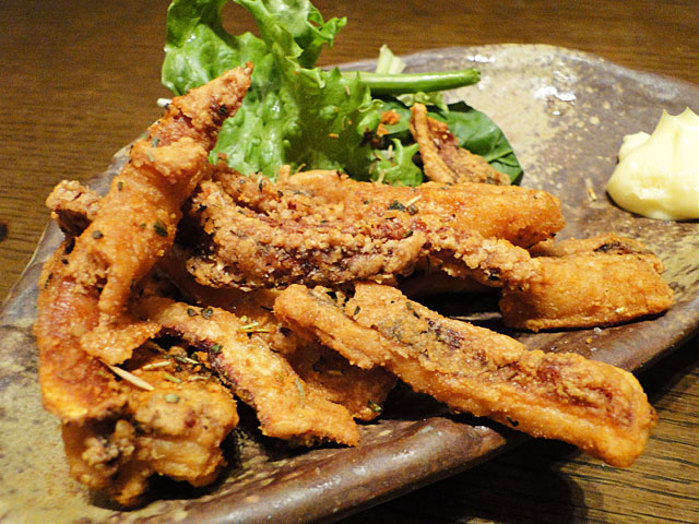Deep-Fried Squid