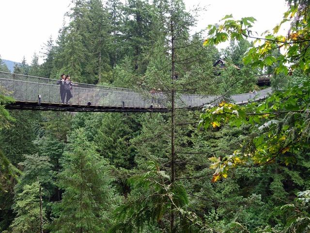 Nature's Edge からカピラノつり橋を望む 4_edit