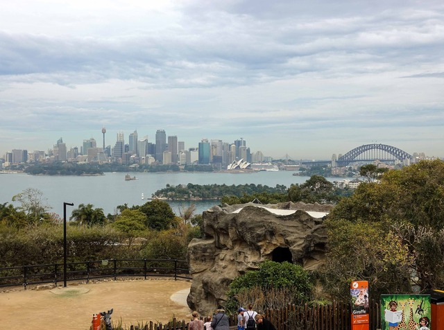シドニー市街地を望む 1_edit