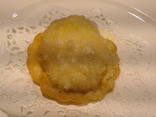 ホタテ貝柱と生ウニの揚げ餃子 2_edit