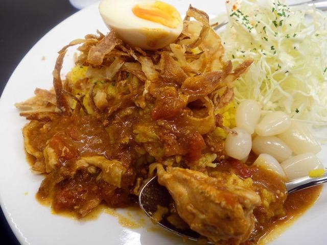 赤い鶏カレー(小盛) 6_edit