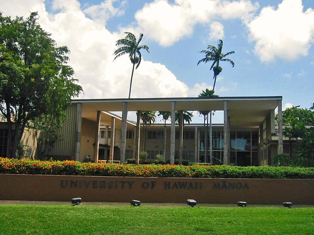 ハワイ大学構内 1_edit